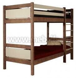 Двухъярусная детская кровать Брамминг (90х200см).
