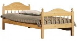 Кровать односпальная детская F2 70х190 из сосны.