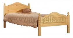 Односпальная кровать К2 70x160 из массива дерева.