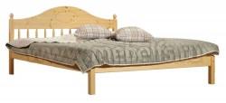 Кровать двуспальная деревянная F1 140х200 из сосны.