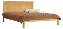 Кровать деревянная односпальная T1 (120х200) из массива сосны.