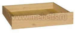 Средний ящик под кровать 140/150/160/190/200 из массива сосны.