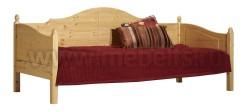 Односпальная кровать тахта K3 (Кая) 80x190 из массива