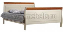 Кровать двуспальная Дания 140х200 из сосны.