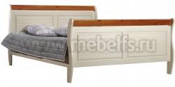 Кровать двуспальная Дания 160х200 из сосны.