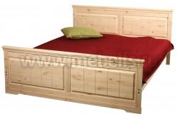 Кровать двуспальная Дания-1 140х200 из сосны.
