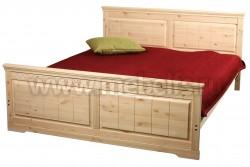 Кровать двуспальная Дания-1 160х200 из сосны.