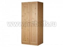 Шкаф Классик платяной из массива сосны.