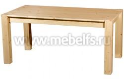 Обеденный стол Брамминг 82x162 из массива сосны.