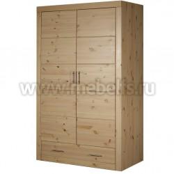 Шкаф комбинированный Брамминг из сосны.