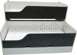 Двухъярусная выдвижная кровать Фунтик-3 ДМ/В (70х160см).