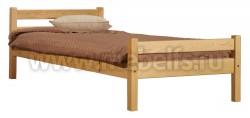 Кровать односпальная деревянная Классика (90х190).