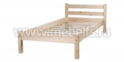 Кровать Классика 90х190 (без изножья) из массива сосны