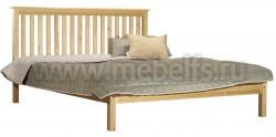 Двуспальная кровать R1 (Рина) 160х190 из сосны.