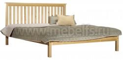 Двуспальная кровать R1 (Рина) 180х190 из массива сосны