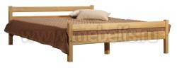 Кровать двуспальная Классика 140х200 с матрасом.
