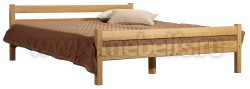 Кровать двуспальная Классика 160х190 с матрасом.