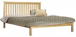 Односпальная кровать R1 (Рина) 90х200 из массива сосны