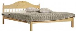 Односпальная кровать F1 (60х120см) из массива сосны.