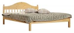Односпальная кровать F1 (70х160см) из массива сосны.