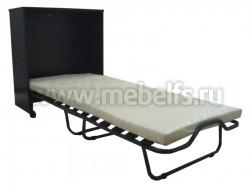 Кровать раскладушка тумба с матрасом на ламелях Карина (В)