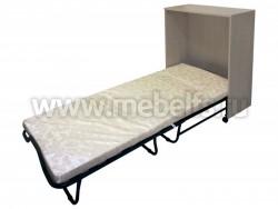 Кровать раскладушка тумба с матрасом на ламелях Карина (ДМ)