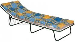 Кровать раскладушка Титан-М с подголовником и матрасом.