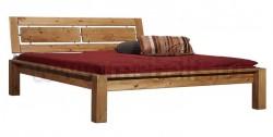 Двуспальная кровать с изголовьем Брамминг-1 140х200 из сосны.