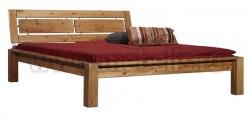 Двуспальная кровать с изголовьем Брамминг-1 180х200 из сосны.