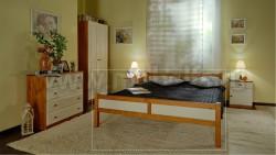 Кровать двуспальная Сона 140х200 из дерева.