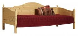 Односпальная кровать тахта K3 (Кая) 80x200 из массива
