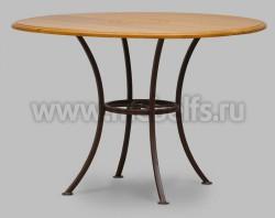 Круглый обеденный стол Бьерт арт.1-47 (диаметр 115см) из сосны