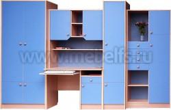 Модульная мебель для детской комнаты - УШ (БСГ).