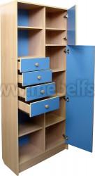Модульная мебель для детской комнаты - секция секретер (БСГ).