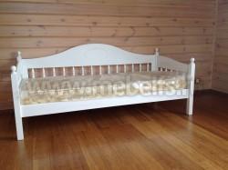 Односпальная кровать тахта F3 (70х160) из массива сосны.