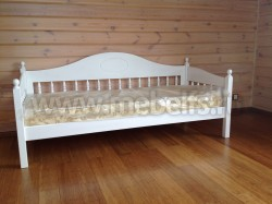Односпальная кровать тахта F3 (80х200) из массива сосны.