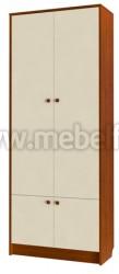 Модульная мебель для детской комнаты - секция шкаф (ЯВ).