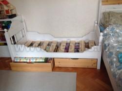 Детская кровать F2 (Фрея) 60х120 с двумя выдвижными ящиками