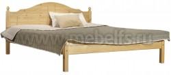 Односпальная кровать из дерева К1 (80х200).