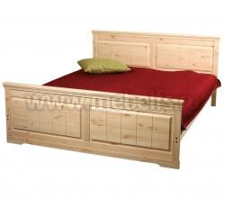 Кровать односпальная Дания 120х190 из сосны.