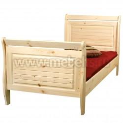 Кровать односпальная Дания 90х190 из сосны.
