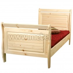 Кровать односпальная Дания 90х200 из сосны.