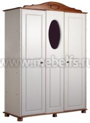 Шкаф 3х дверный Айно из массива сосны.