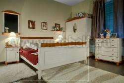 Кровать двуспальная Дания 140х190 из сосны.