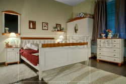 Кровать двуспальная Дания 160х190 из сосны.