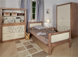 Кровать односпальная Брамминг 70х190см из массива