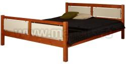 Кровать двуспальная Брамминг 140х190см из массива