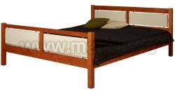 Кровать двуспальная Брамминг 140х200см из массива