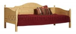 Кровать тахта K3.2 (70x190) для пожилых людей из сосны.
