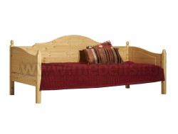 Кровать тахта K3.2 (80x190) для пожилых людей из сосны.